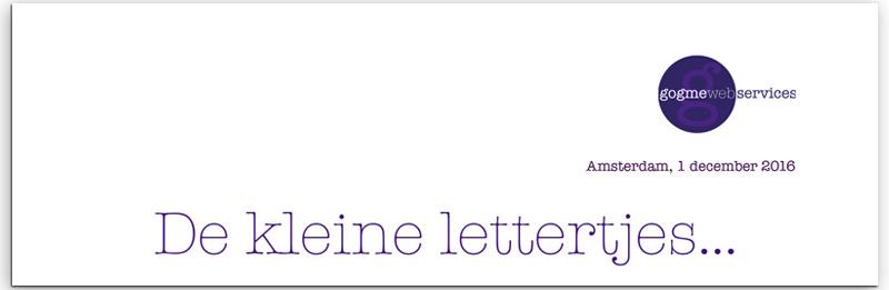 Nieuwe Kleine Lettertjes